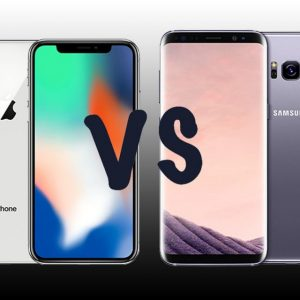 Comparativo Samsung Galaxy S9 x iPhone X